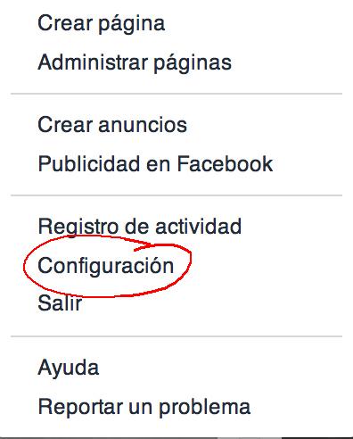 No recibir más invitaciones de Facebook. Toño Antonio Constantino