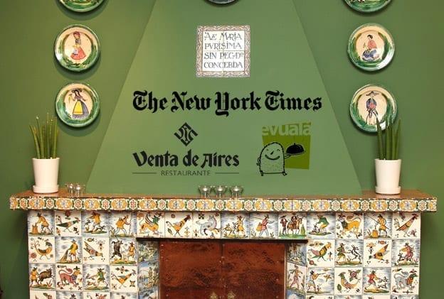 The New York Times, Venta de Aires, Evualá. Toño Antonio Constantino