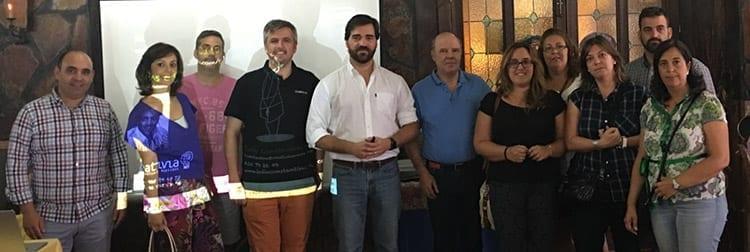 Toño Constantino imparte taller de Innovación, creatividad y emprendimiento en Yuncos. FEDETO