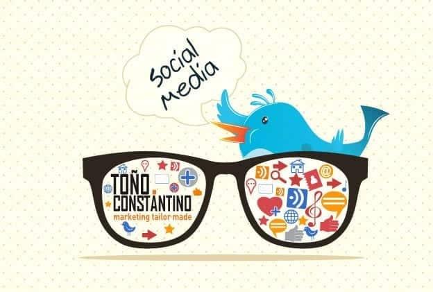 Errores en social media. Toño Antonio Constantino