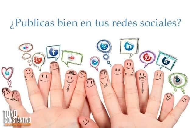 Qué publicar y cuándo en Redes Sociales. Toño Antonio Constantino