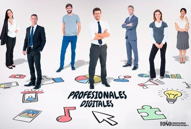 Profesionales digitales más demandados. Toño Antonio Constantino. Marketing Toledo. Marketing Manager