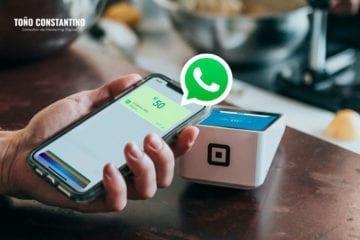 WhatsApp Pay Toño Constantino